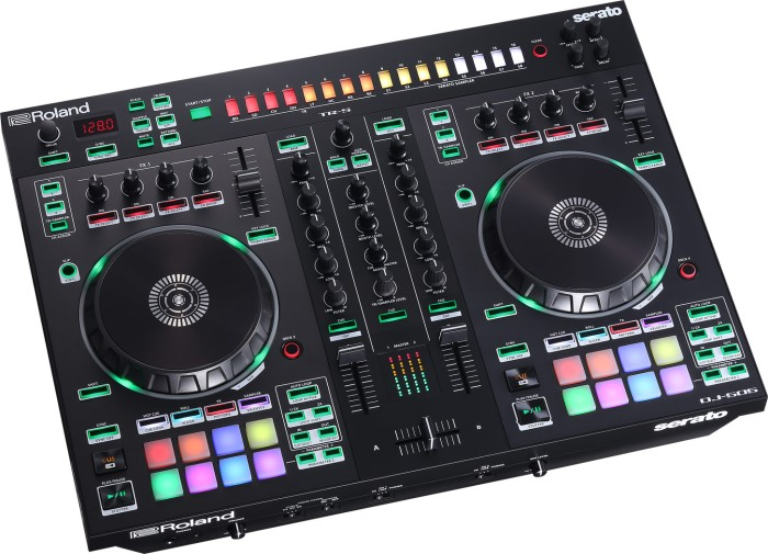 Roland DJ 505 track freeze