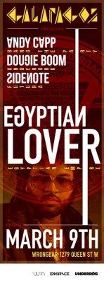 Galapagos w/ Egyptian Lover @ Wrongbar