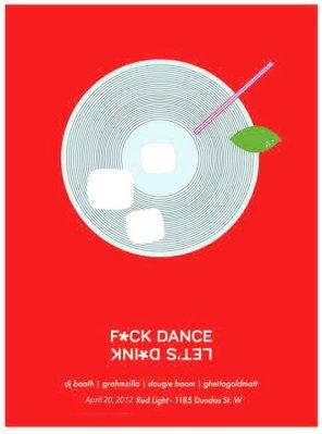 F*ck Dance Let's D*ink April 2012 @ The Red Light