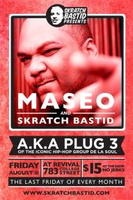 Maseo (Plug 3, De-La-Soul) @ Revival 2012